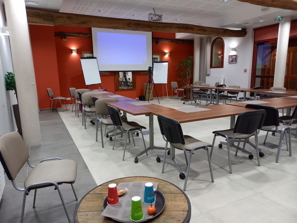Votre salle de réunion distanciée à La croisée des Possiblesau Sud de l'Oise